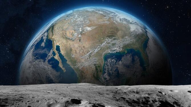 Négy elmélet a Hold keletkezés-történetére